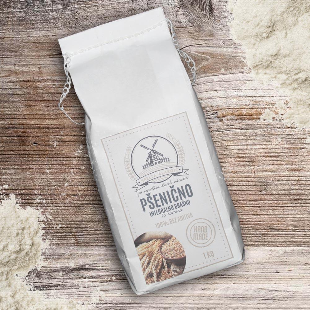 Pšenično integralno brašno 1kg