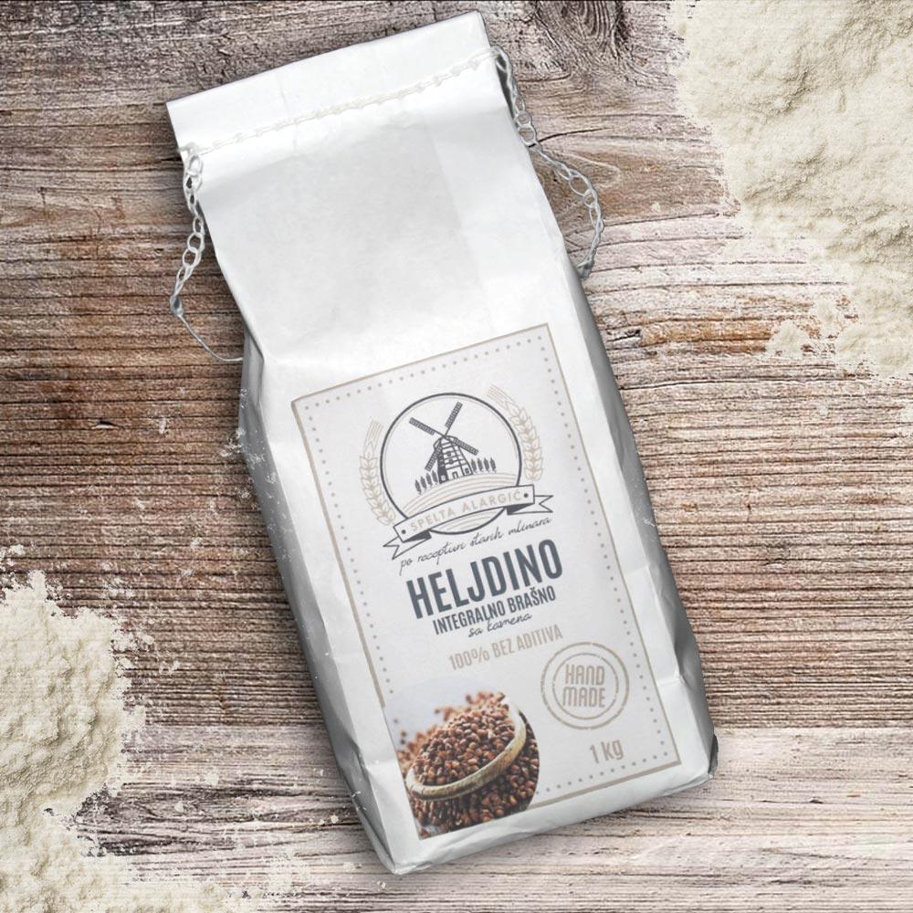 Heljdino integralno brašno 1kg