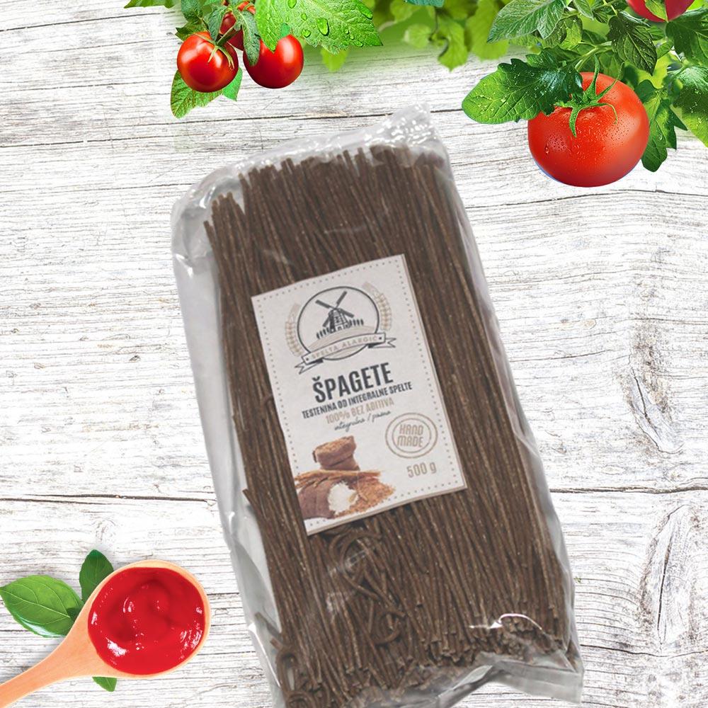 Špagete od SPELTE 0.5kg
