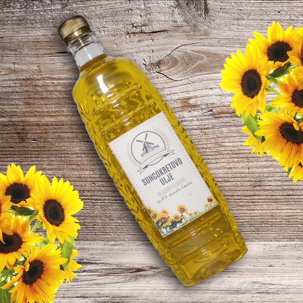 Suncokretovo ulje 1L